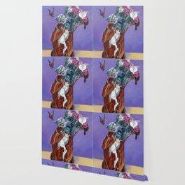 Hazel the Princess Boxer Girl Wallpaper