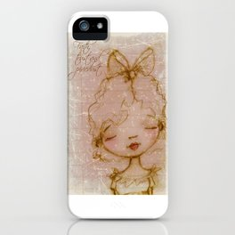 Faith, Trust, and Pixiedust - Glorified Sketch iPhone Case