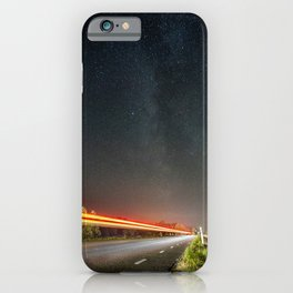 Road to Milky Way iPhone Case