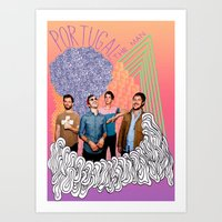 posters Art Prints featuring Posters by Claudia Reese