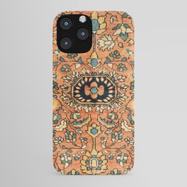 Sarouk Poshti Vintage Persian Rug Print iPhone Case