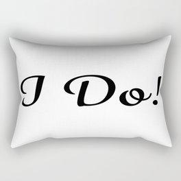I Do! Rectangular Pillow