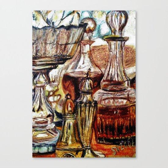 CRAYON LOVE - Crystal Canvas Print