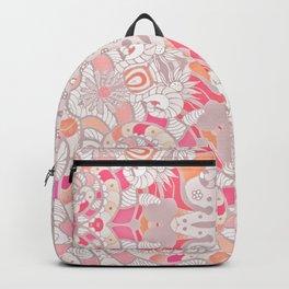BOHO SUMMER JOURNEY MANDALA - PASTEL ROSE PINK Backpack