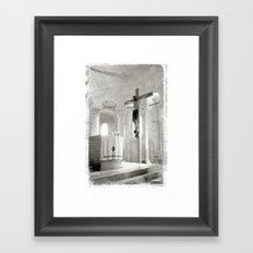 Crucifix-Redemption Framed Art Print
