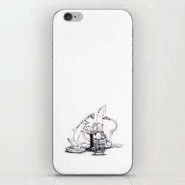 Collaboration Drawing. iPhone Skin