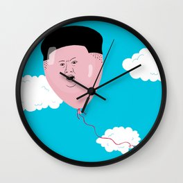Kim Jong-Ball-Un Wall Clock
