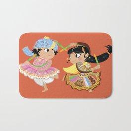 Indian Dance Bath Mat