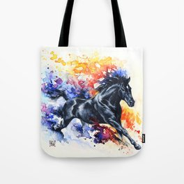 """He appears""  Tote Bag"