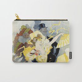 Paris masquerade ball 1896 by Chéret Carry-All Pouch