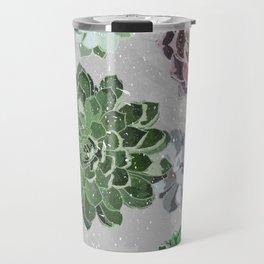 Simple succulents Travel Mug