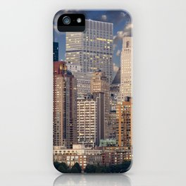 Downtown NYC at twilight iPhone Case