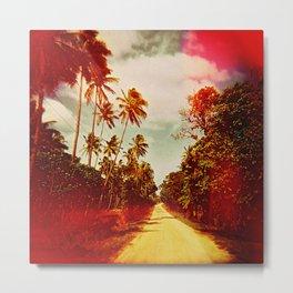 UNTITLED (a road in Tonga) Metal Print