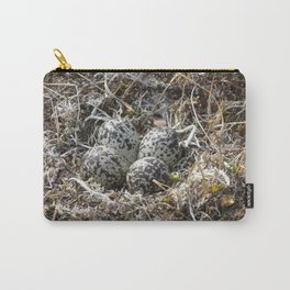 Bird Nest (Pacific Golden Plover) Carry-All Pouch