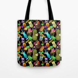 Tropical Happy Hour Tote Bag