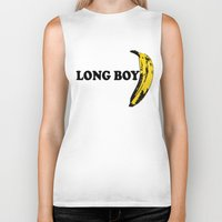 cassia beck Biker Tanks featuring BECK: Long Boy by KeithKarloff