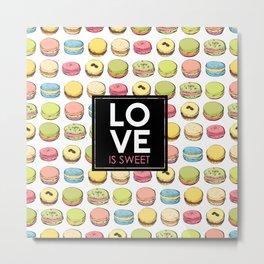Love is sweet. Metal Print