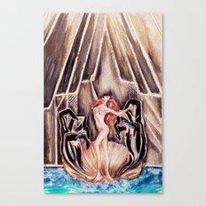 Lady Botticelli  Canvas Print