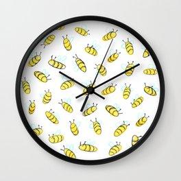 Bumble BaeBees Wall Clock