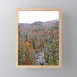 Fall Forest, Vertical Framed Mini Art Print