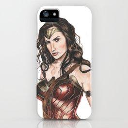"DC Comics ""WW"" iPhone Case"