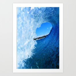 Surfing Costa Rica Inside Out Art Print