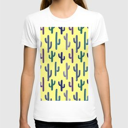 Cactus on Yellow T-shirt
