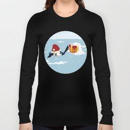 Smart penguin Long Sleeve T-shirt