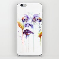 glass iPhone & iPod Skins featuring Glass by Chelsea Brouillette