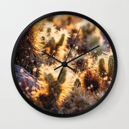 Cacti Medley Wall Clock
