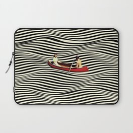 Illusionary Boat Ride Laptop Sleeve