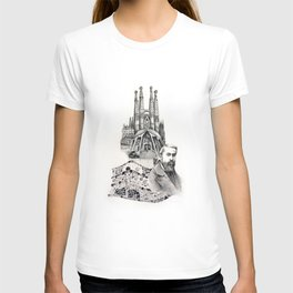 Tribute to Gaudi T-shirt