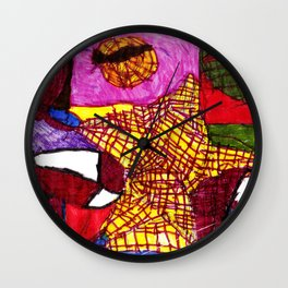 Spider Manny - (Special Guest) Wall Clock