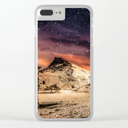Deep Midwinter Clear iPhone Case