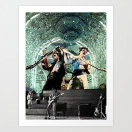Rock n Roll Psychic Hegemony Art Print