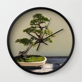 Bonsai Bonanza Wall Clock