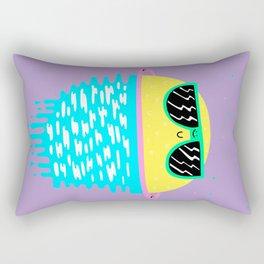 Happy Sunset Plums Rectangular Pillow