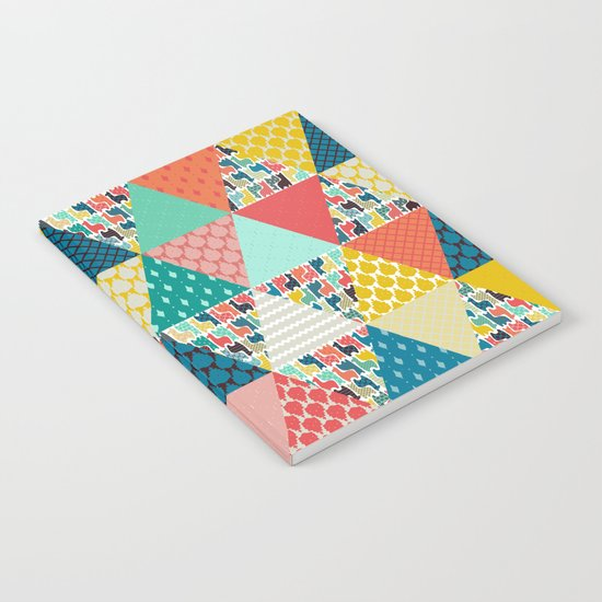 llama geo triangles Notebook