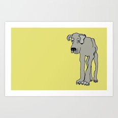 Barney Art Print