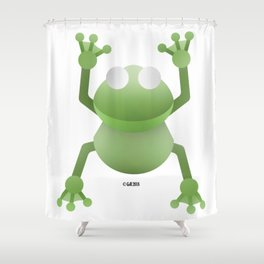 The Frog I Shower Curtain