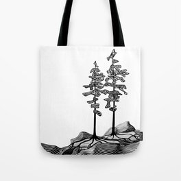 Northern Pines Tote Bag