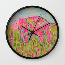 Jelly Bean The Elephant Wall Clock