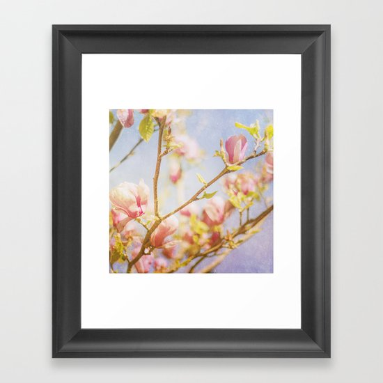 Spring Days Framed Art Print