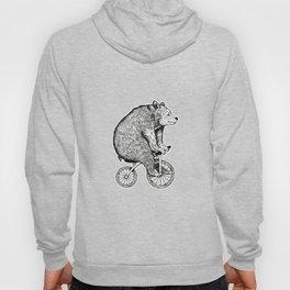 bicycle bear Hoody