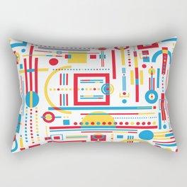 CLASH w/white Rectangular Pillow