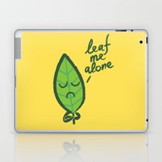The introvert leaf Laptop & iPad Skin