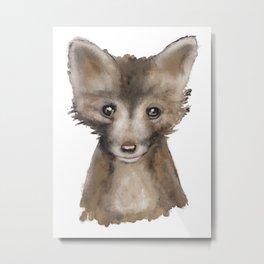 Fox Kid Metal Print