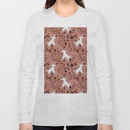 Origami Unicorn Long Sleeve T-shirt