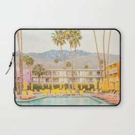 Poolside in Palm Springs - Travel Photography Laptop Sleeve