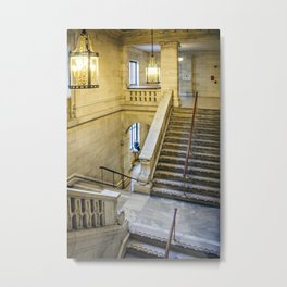 New York Public Library Metal Print